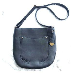 Black Saffiano Handbag